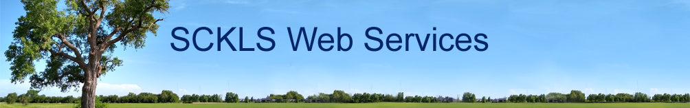 SCKLS Library Web Services