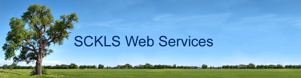 SCKLS Library Web Services